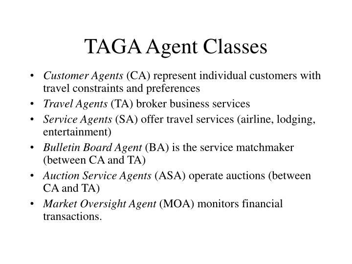 TAGA Agent Classes