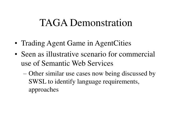 TAGA Demonstration