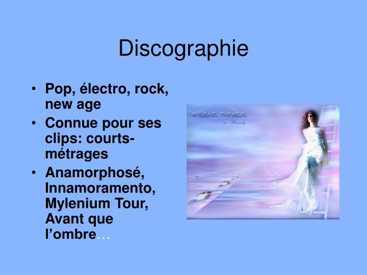 Discographie