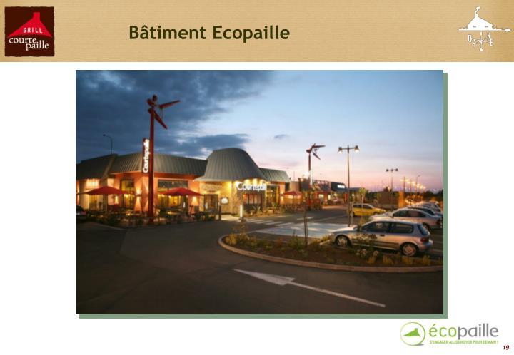 Bâtiment Ecopaille
