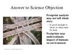 answer to science objection