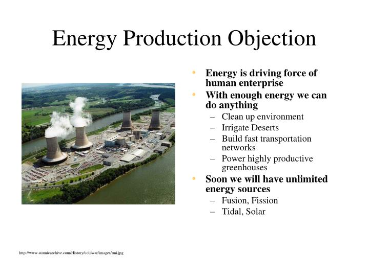 Energy Production Objection