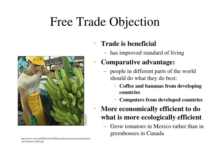 Free Trade Objection