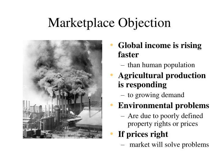 Marketplace Objection