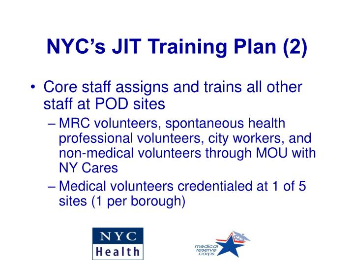 NYC's JIT Training Plan (2)