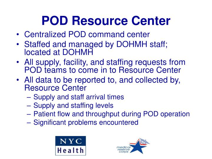 POD Resource Center