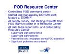 pod resource center