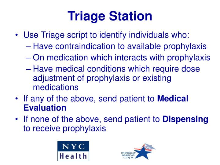 Triage Station