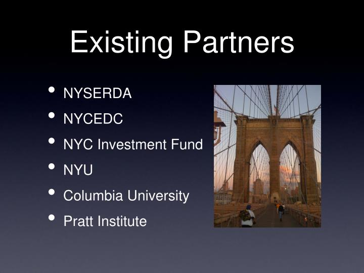 Existing Partners