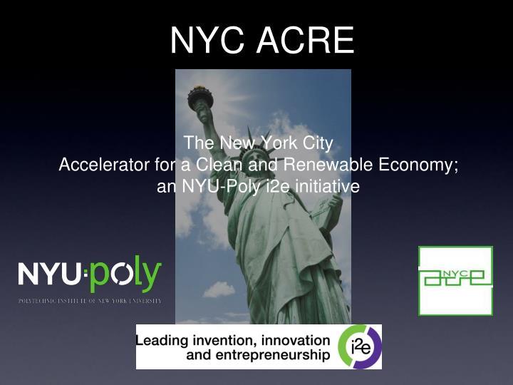nyc acre