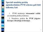 speciali naudot preki apmokestinimo pvm schema gali b ti taikoma kai