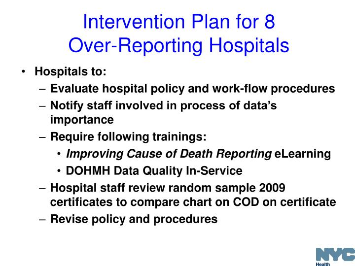 Intervention Plan for 8