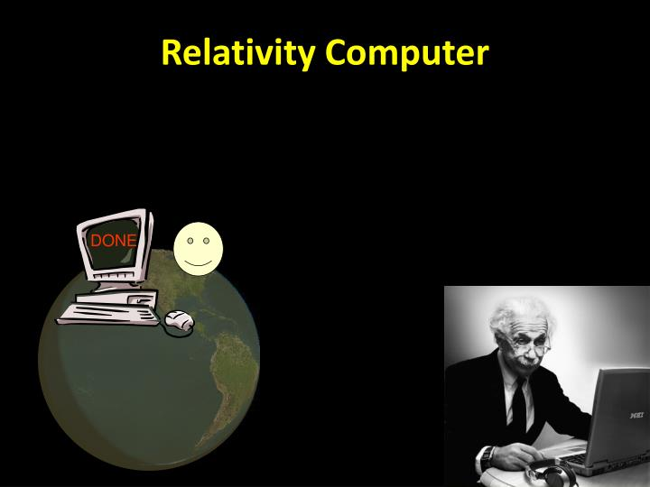 Relativity Computer