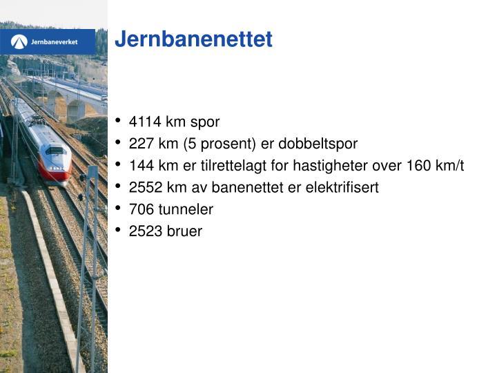 Jernbanenettet