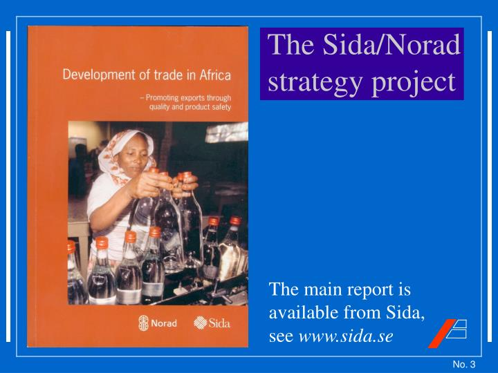 The Sida/Norad strategy project