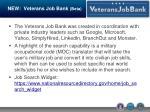 new veterans job bank beta