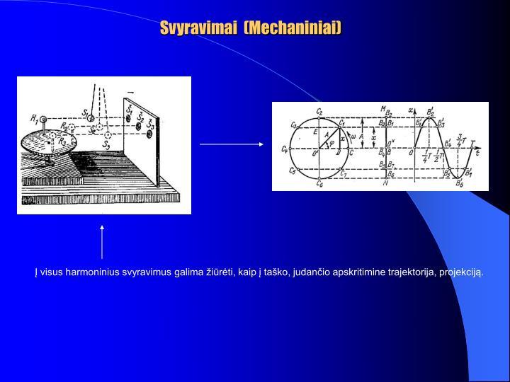 Svyravimai  (Mechaniniai)