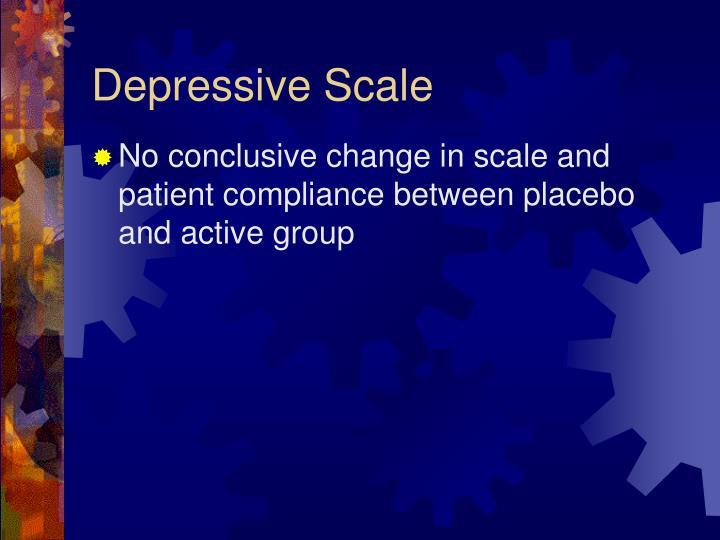Depressive Scale