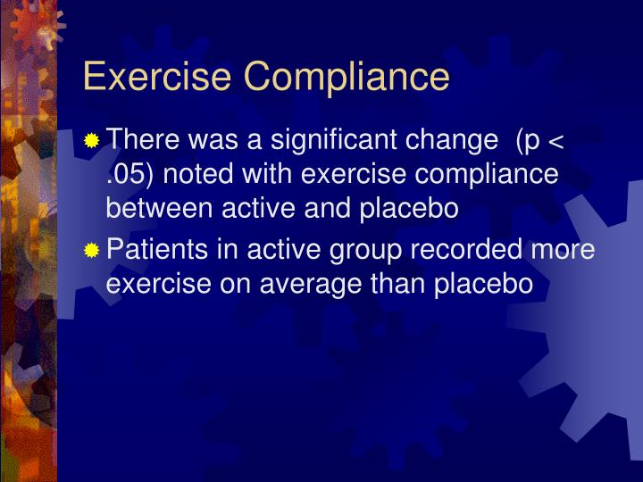 Exercise Compliance