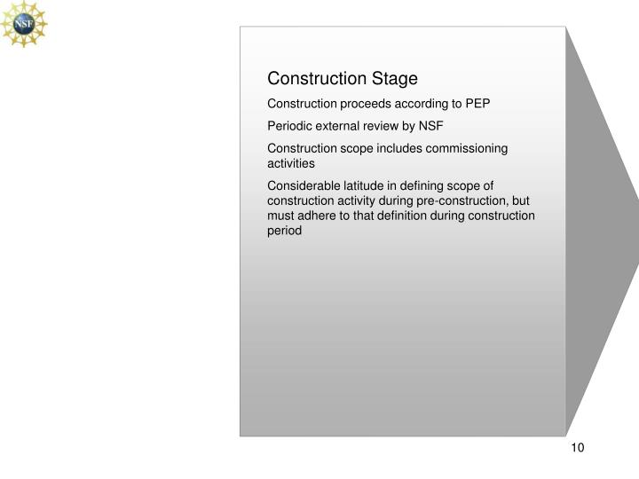 Construction Stage