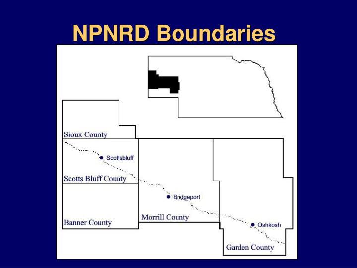 NPNRD Boundaries