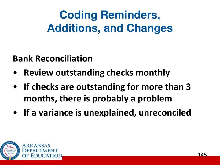 Coding Reminders,