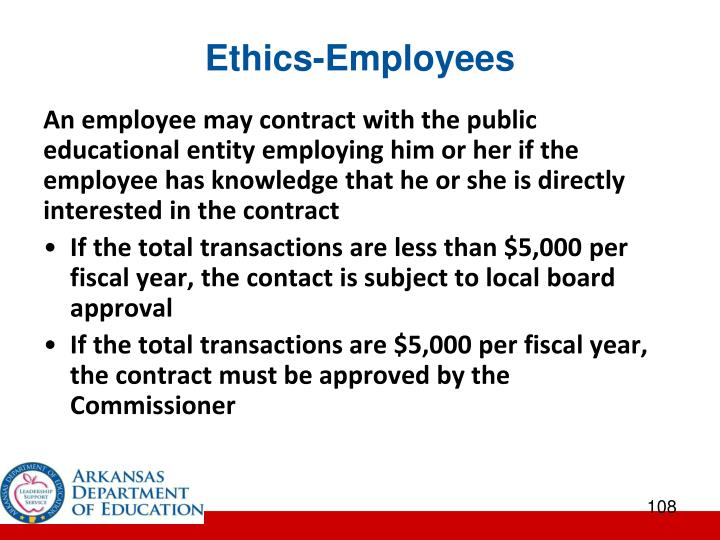 Ethics-Employees