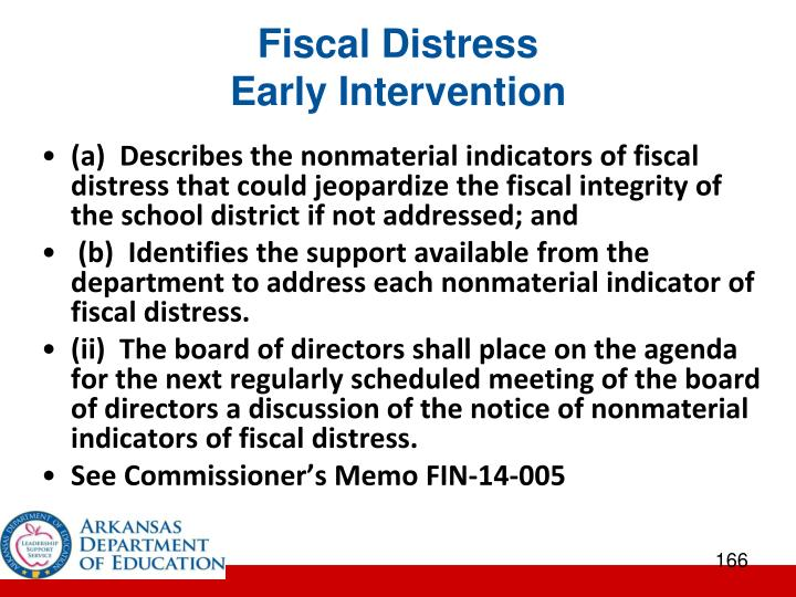 Fiscal Distress
