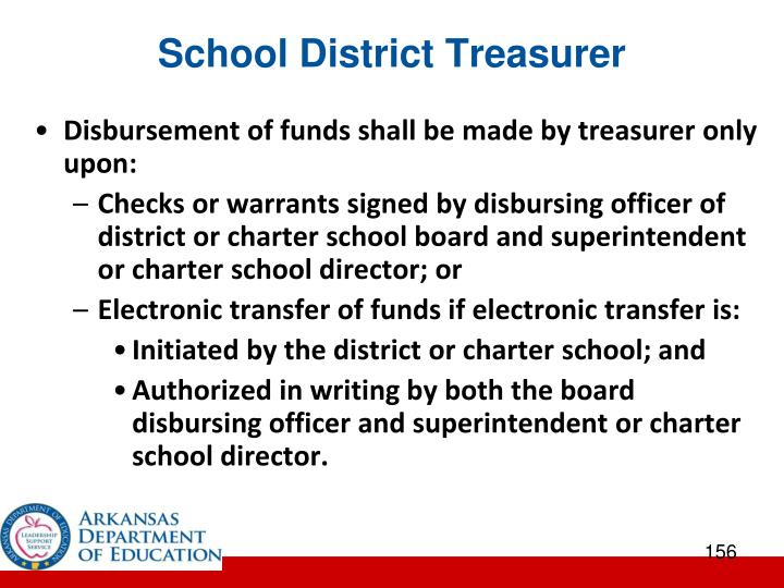 School District Treasurer