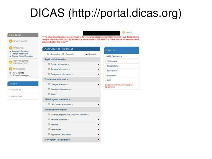 DICAS (http://portal.dicas.org)