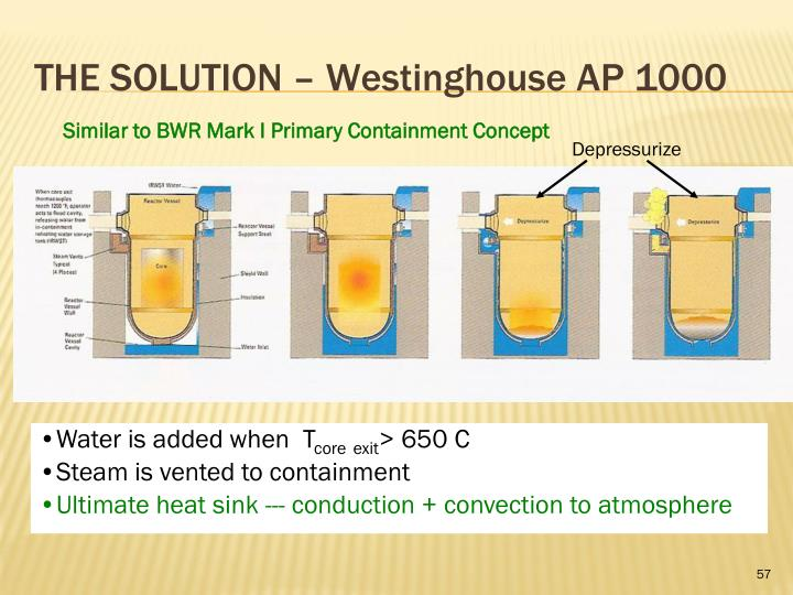 THE SOLUTION – Westinghouse AP 1000