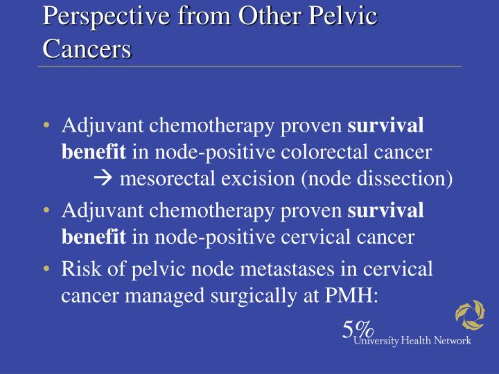 Perspective from Other Pelvic Cancers