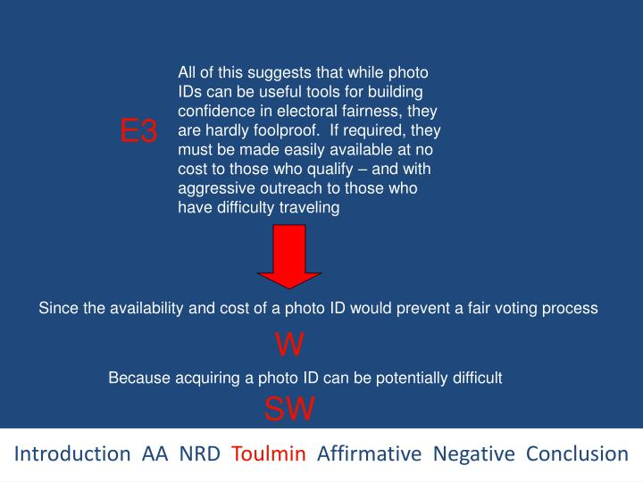 All of this suggests that while photo IDs can be useful tools for building confidence in electoral fairness, they are hardly foolproof.  If required, they must be made easily available at no cost to those who qualify – and with aggressive outreach to those who have difficulty traveling