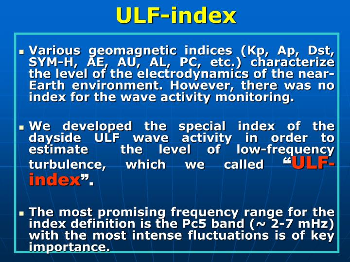 ULF-index