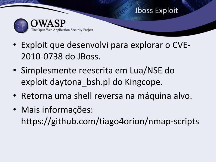 Jboss Exploit