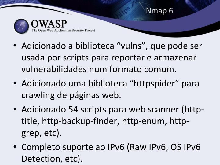 Nmap 6