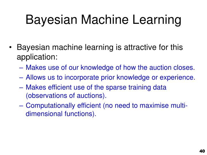 Bayesian Machine Learning