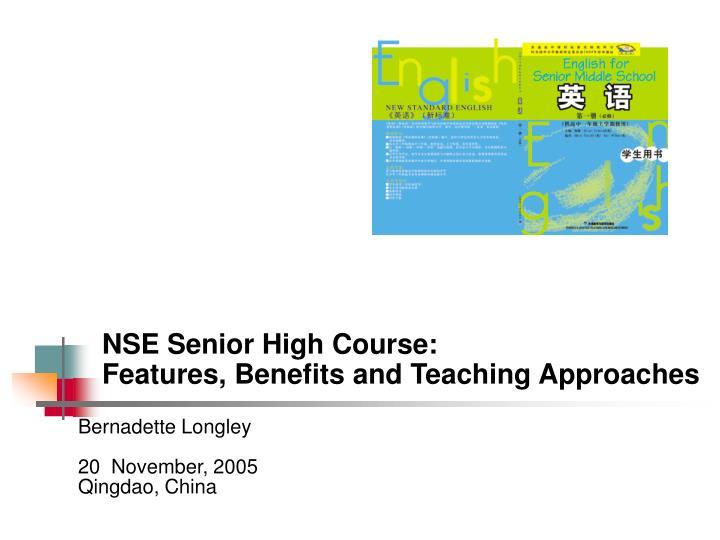 NSE Senior High Course: