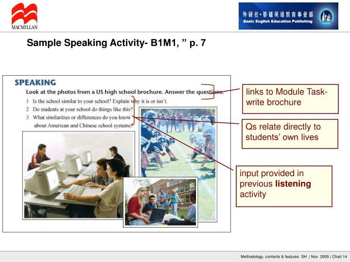 links to Module Task- write brochure