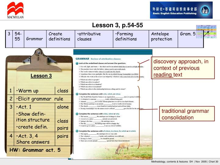 discovery approach, in context of previous