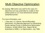 multi objective optimization10