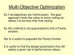 multi objective optimization13