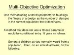 multi objective optimization18