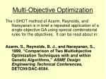 multi objective optimization27