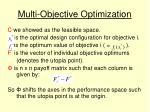 multi objective optimization9