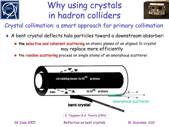 Why using crystals