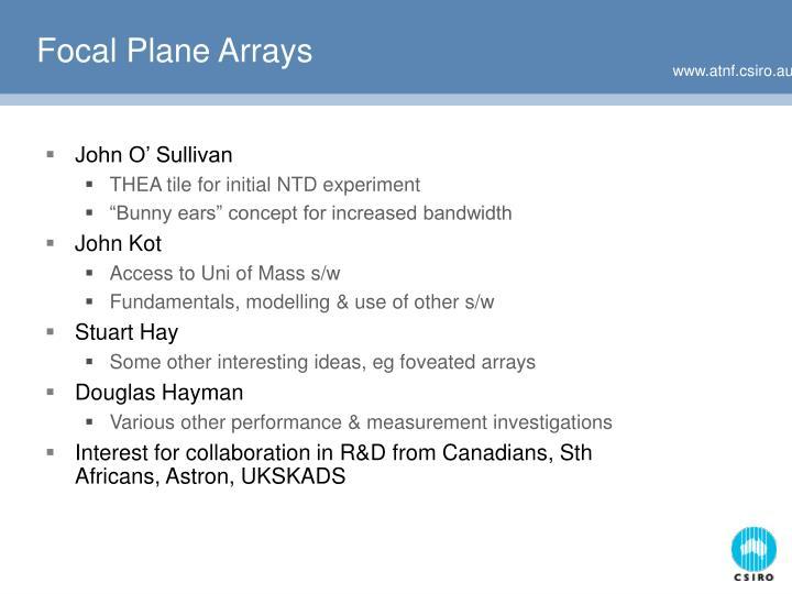 Focal Plane Arrays