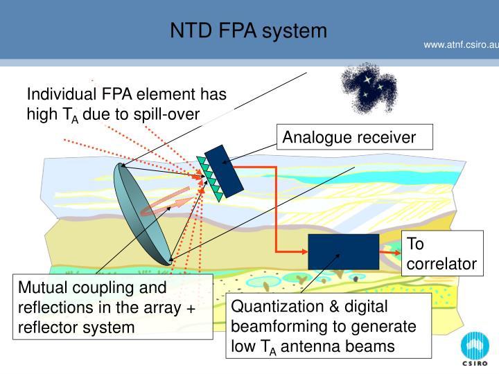 NTD FPA system