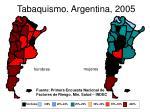 tabaquismo argentina 2005