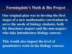 farmingdale s math bio project1